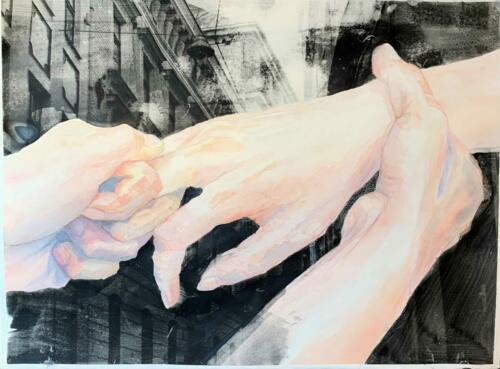 Tokvam_ragnhild_Grep1-Akvarell-og-fotoemulsjon-på-papir-80x60-cm-scaled